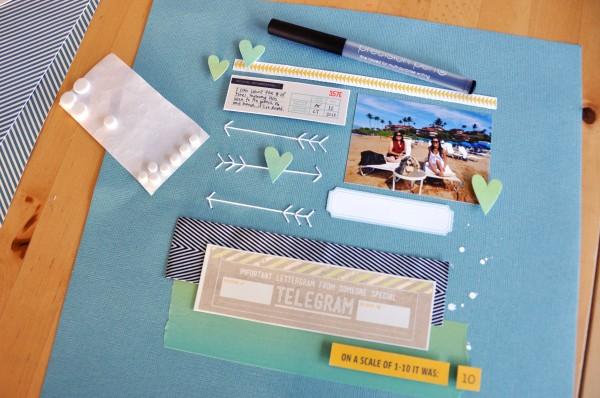 Amy Tan | Studio Calico Front Row Main Kit Layout
