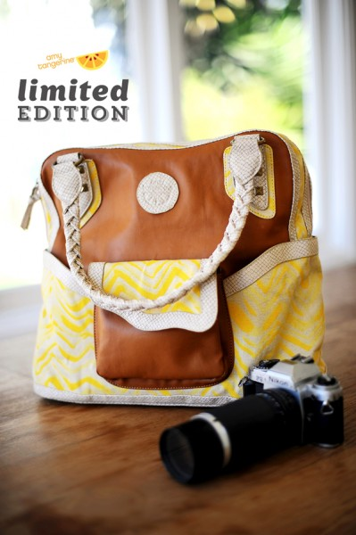 Amy Kathryn Limited Edition Purse | Amy Tangerine