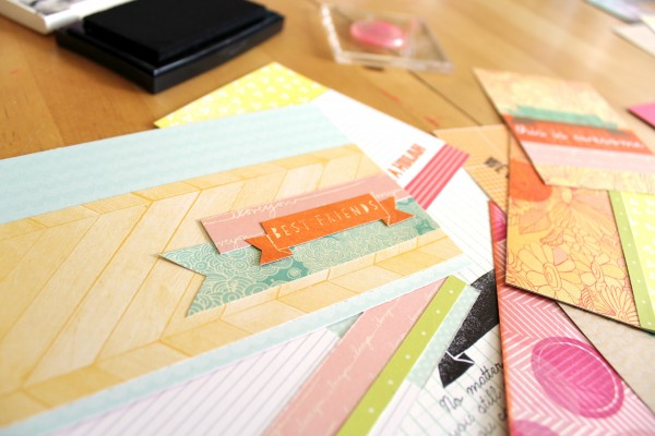 Give a Girl a Blog Stamps | Amy Tangerine