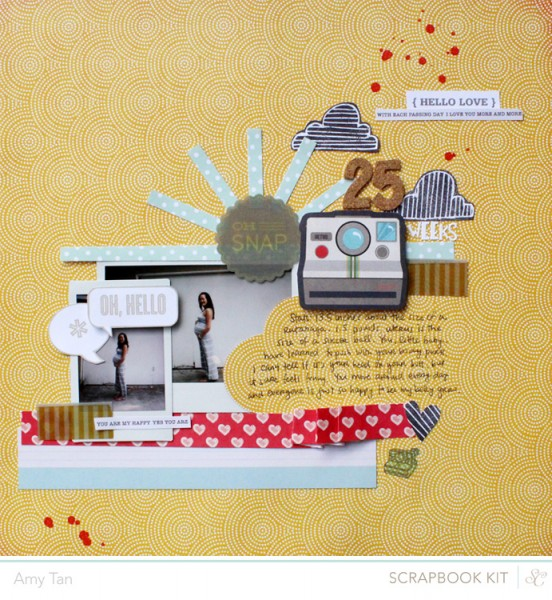 Amy Tan | Studio Calico July Kits
