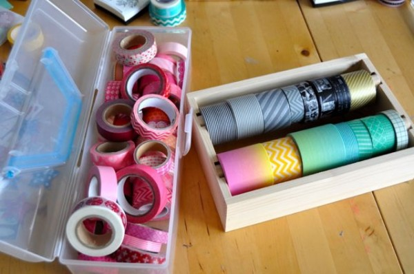 transferring to washi tape dispenser