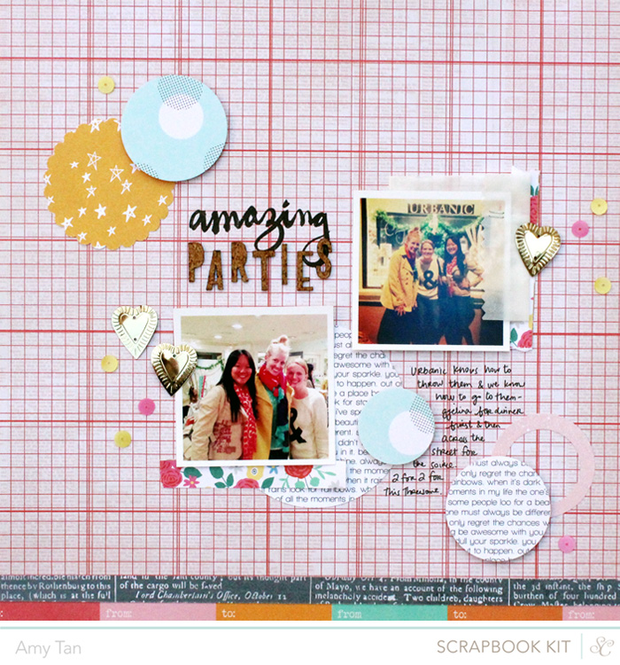 Amy Tan | Studio Calico August Kits