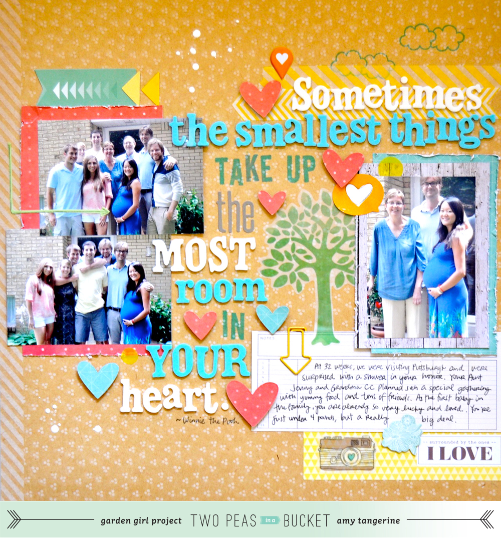 the smallest things - amy tangerine