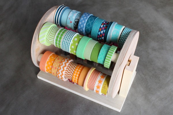Amy Tangerine | All Ready Memories Washi Tape Carousel