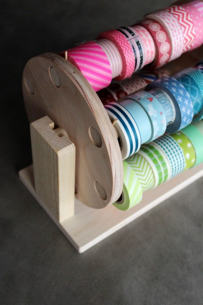 Amy Tangerine | All Ready Memories Washi Tape Carousel