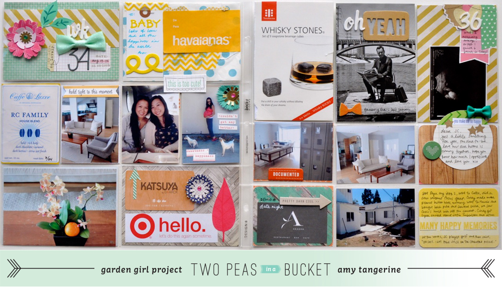Project Life | Amy Tangerine for Two Peas in a Bucket
