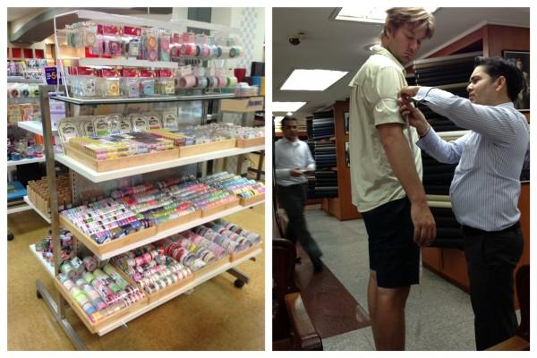 washi tape & the chinese tailor Bangkok