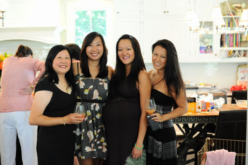 Amy Tan's Baby Shower