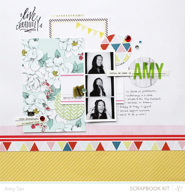 Amy Tan | Studio Calico Kit Step-Out