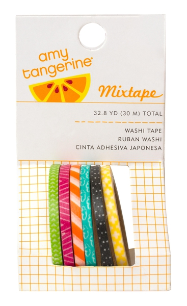 Amy Tangerine Plus One washi tape