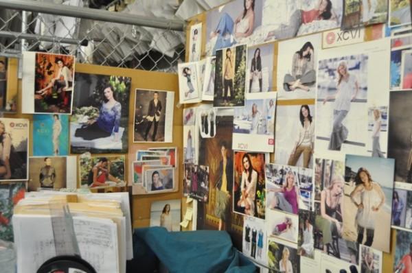 XCVI inspiration wall | Amy Tangerine