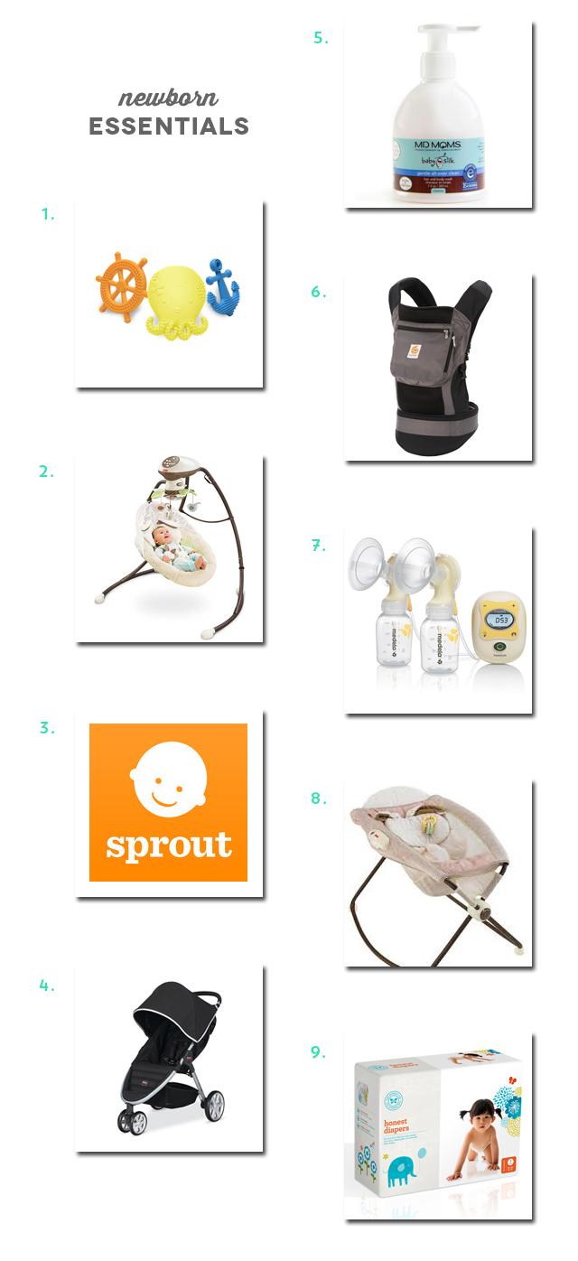 Newborn Essentials | Amy Tan