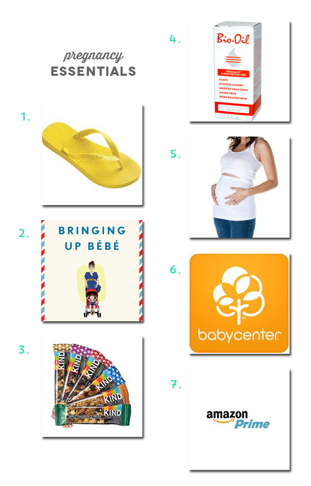 Pregnancy Essentials | Amy Tan