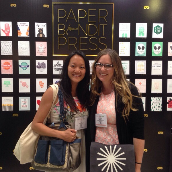 Amy Tangerine at the Stationery Show