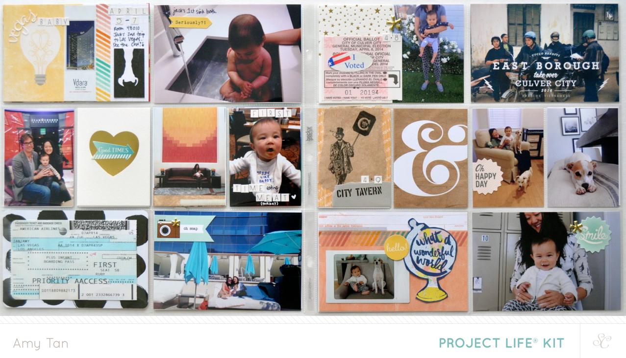 Amy Tangerine Studio Calico Penny Arcade kits