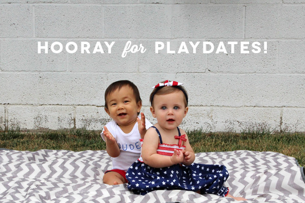 Hooray for Playdates | Amy Tangerine