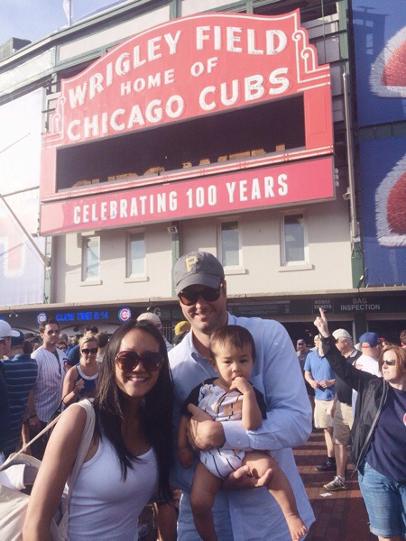 Jack goes to the Cubs game