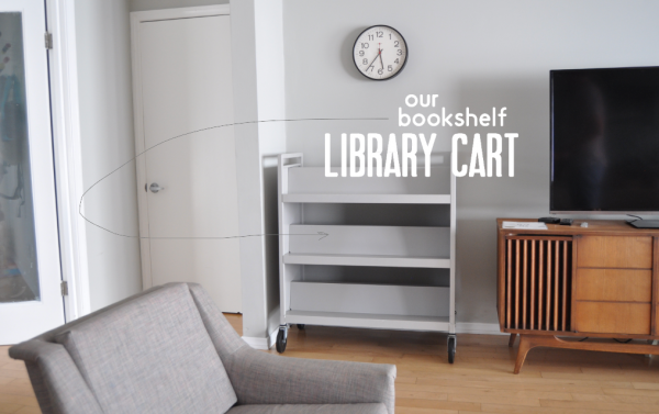 bookshelf:library cart