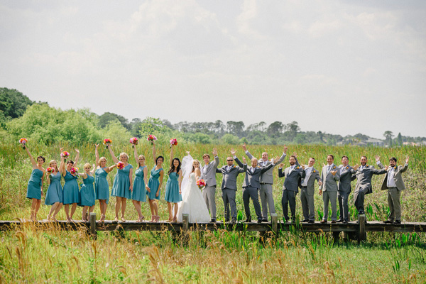 Courtney + Jon's Wedding via Amy Tangerine | Sunglow Photography