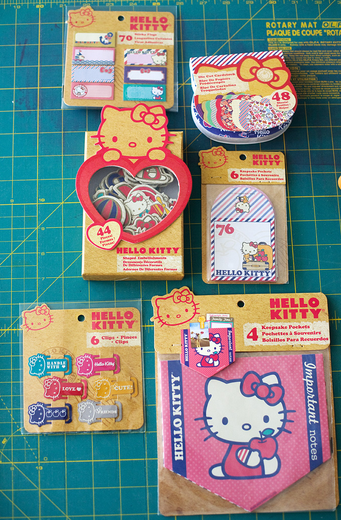 amy tangerine + hello kitty