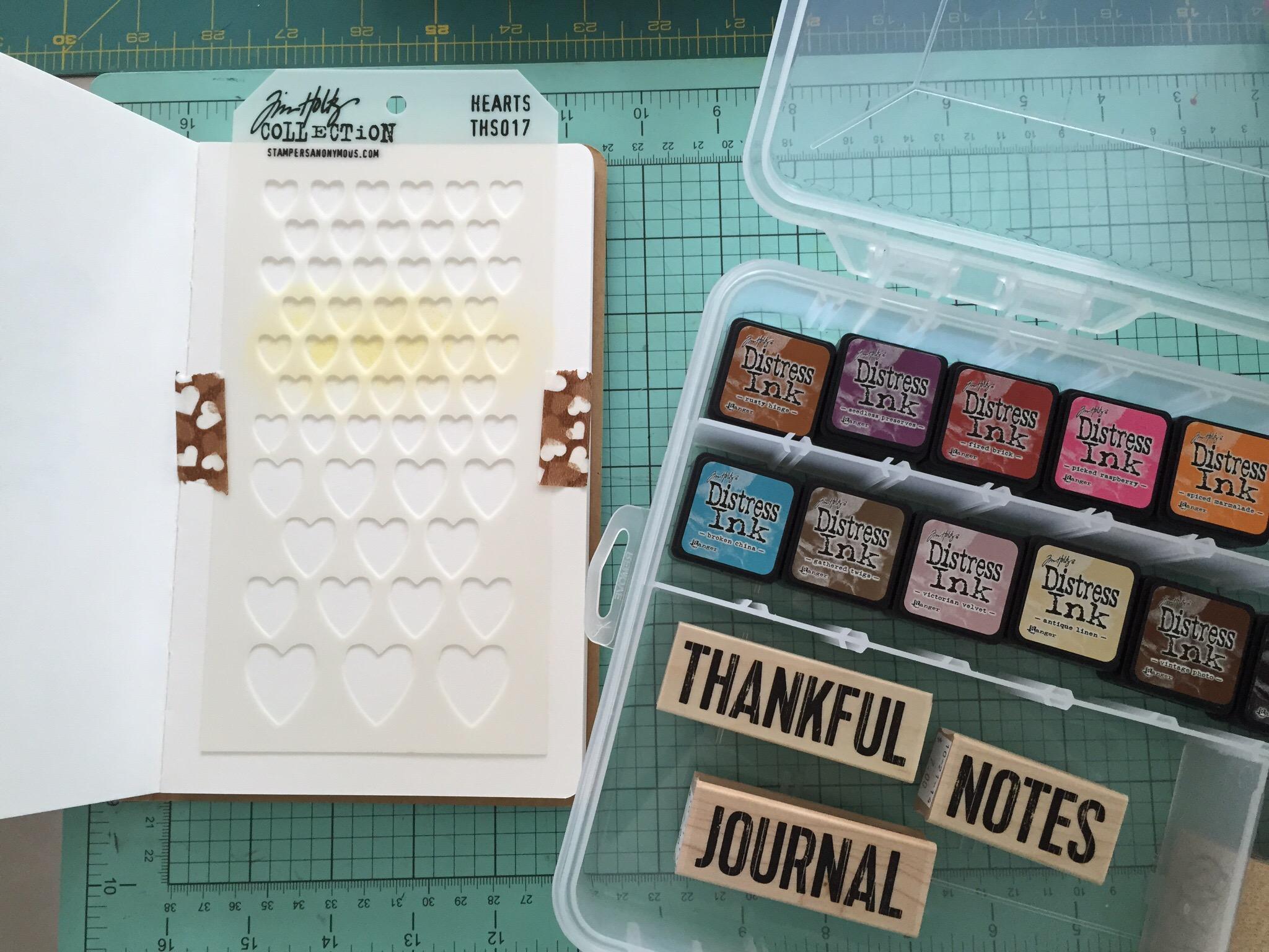 Amy Tangerine Art Journal