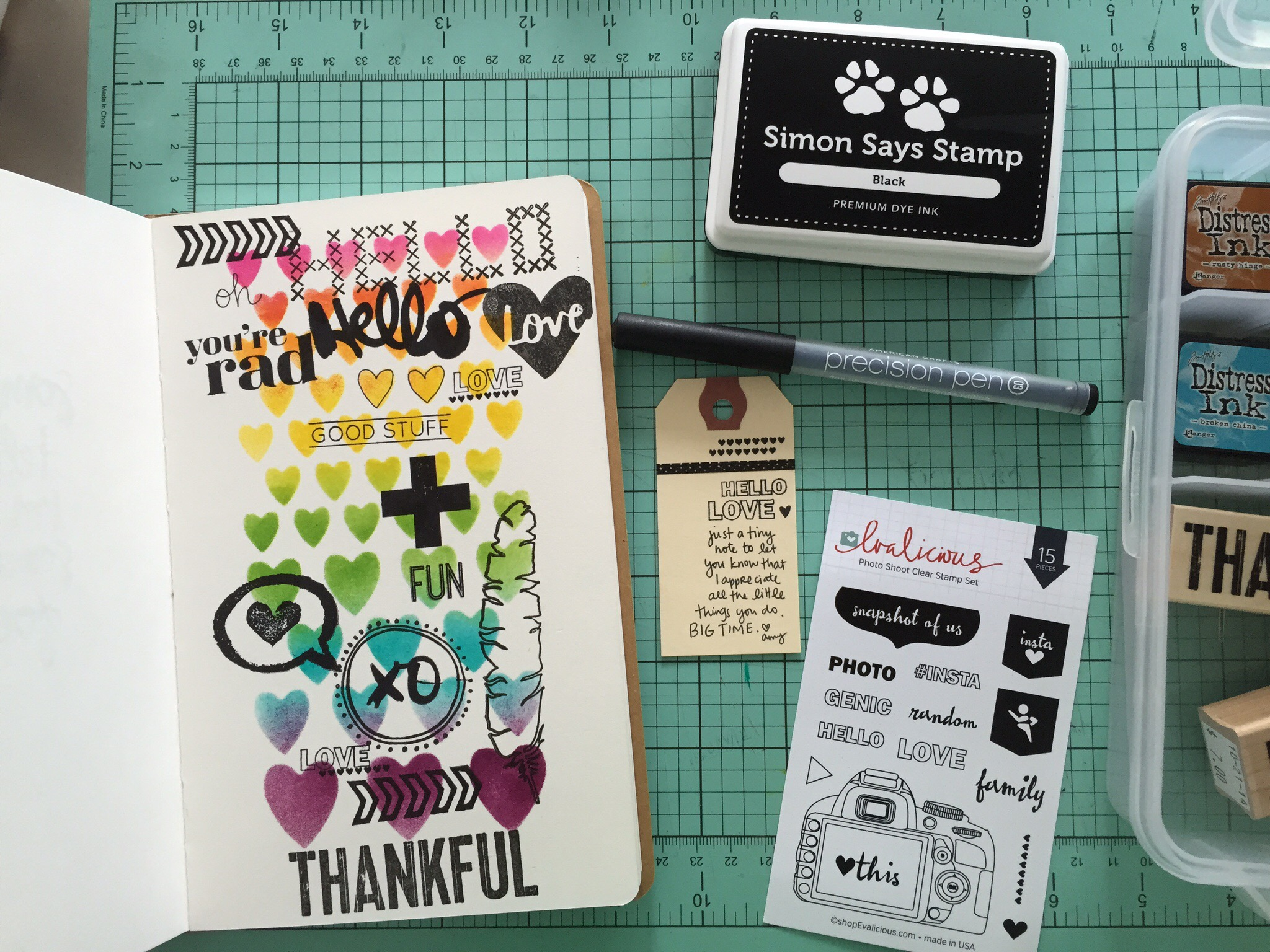 Amy Tangerine Art Journal