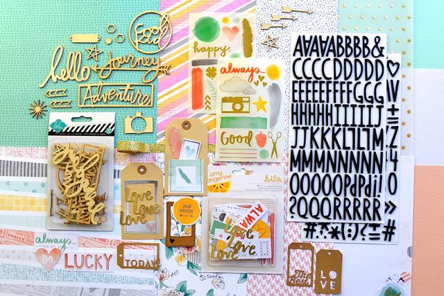 paper camillia kit