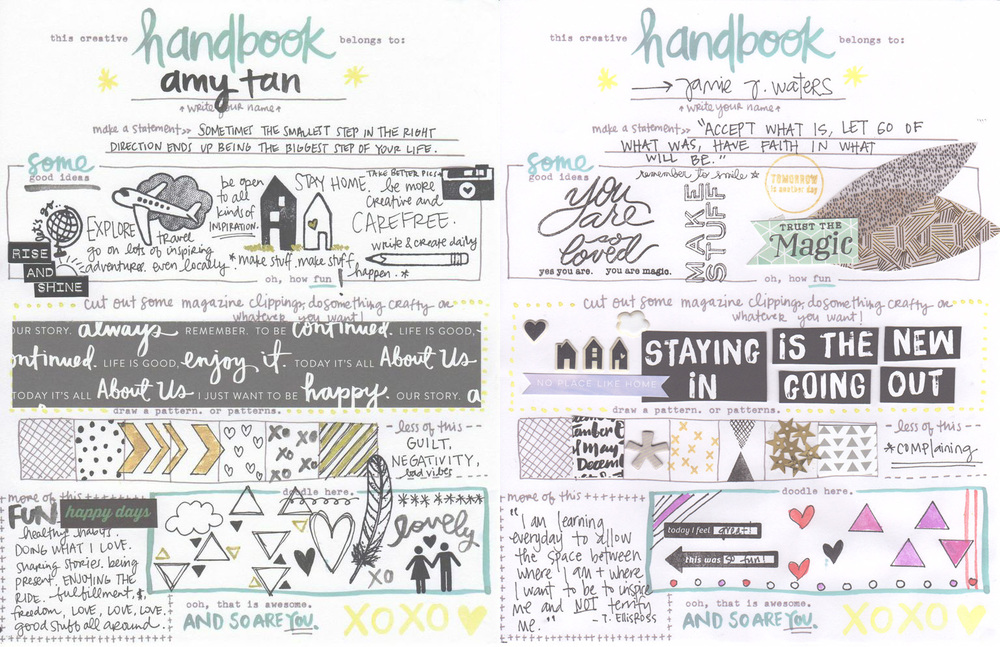 Amy Tangerine Creative Handbook - free download