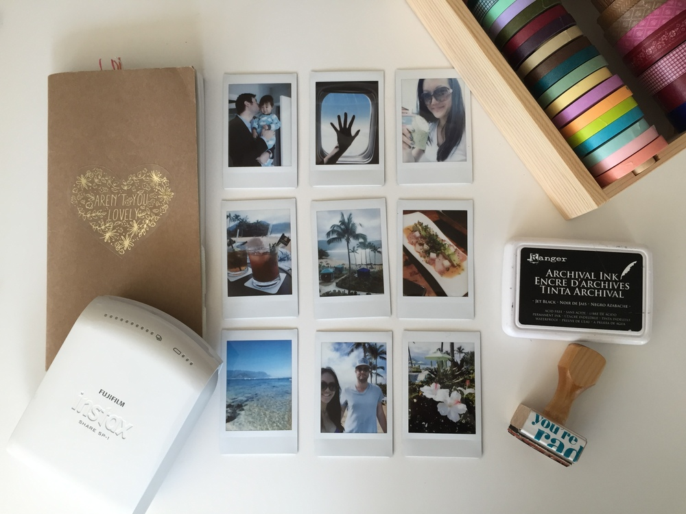 Instax Share Travelers Notebook