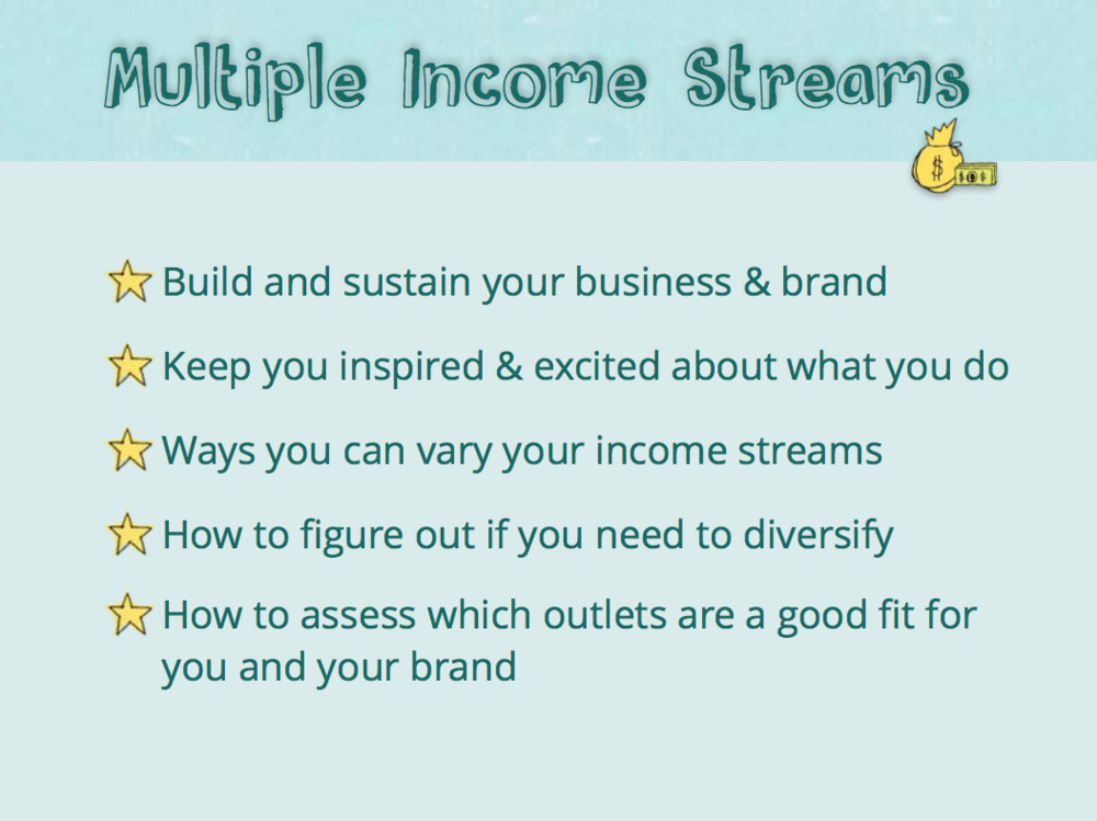 Creating Multiple Income Streams