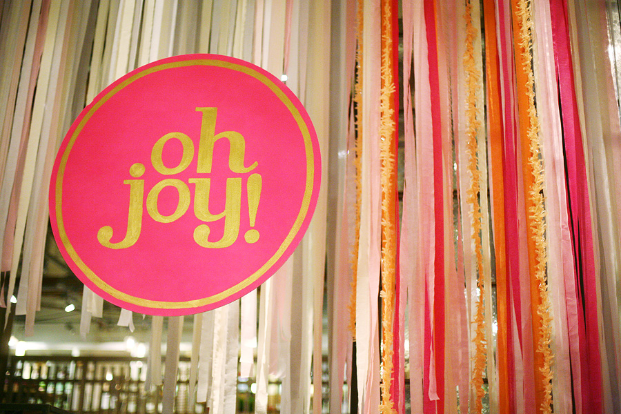 oh joy book launch party!