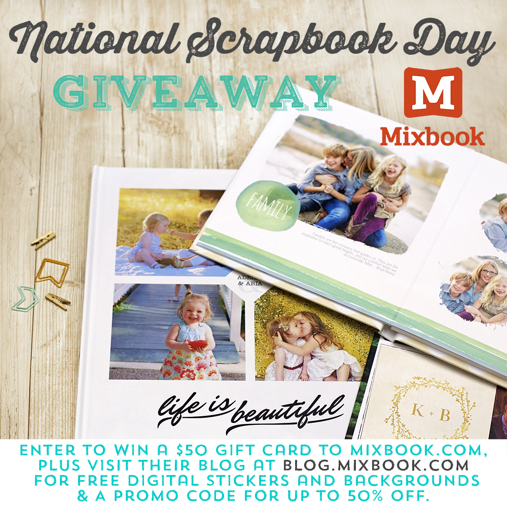 mixbook NSD giveaway