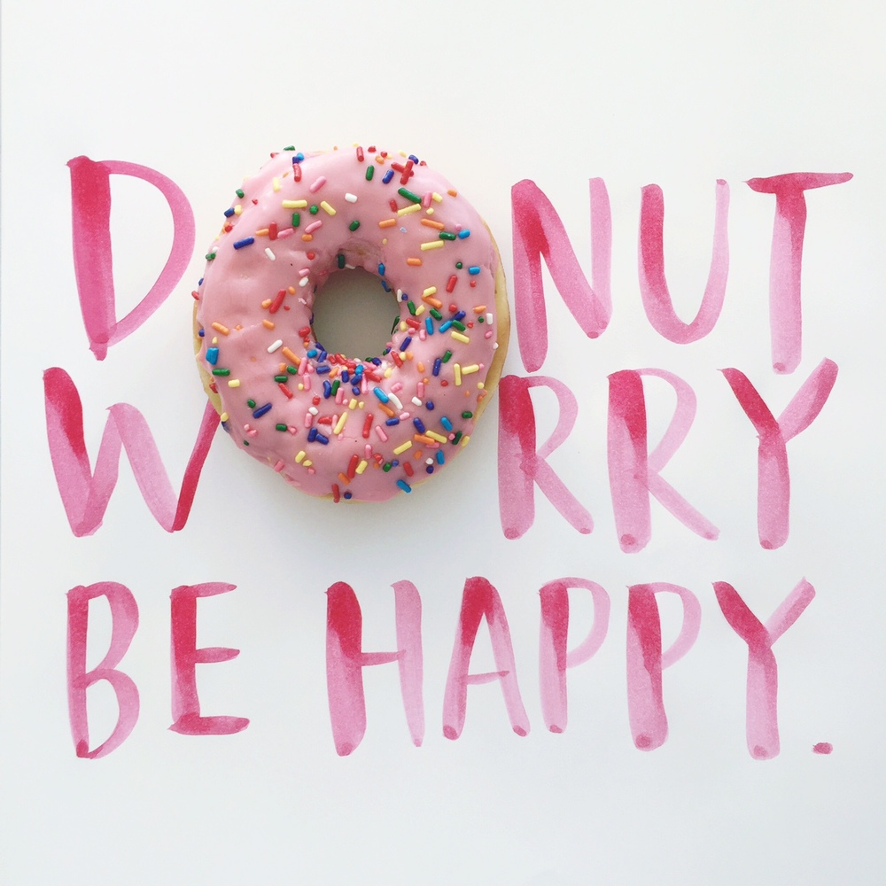 Donut Worry, Be Happy — Amy Tangerine
