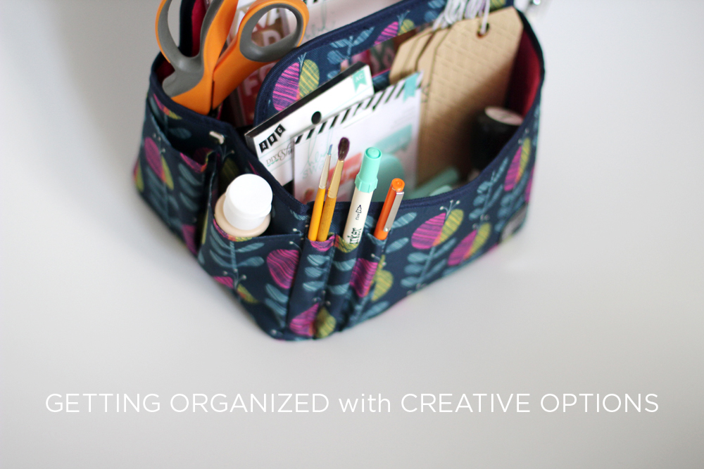Creative Options craft tote