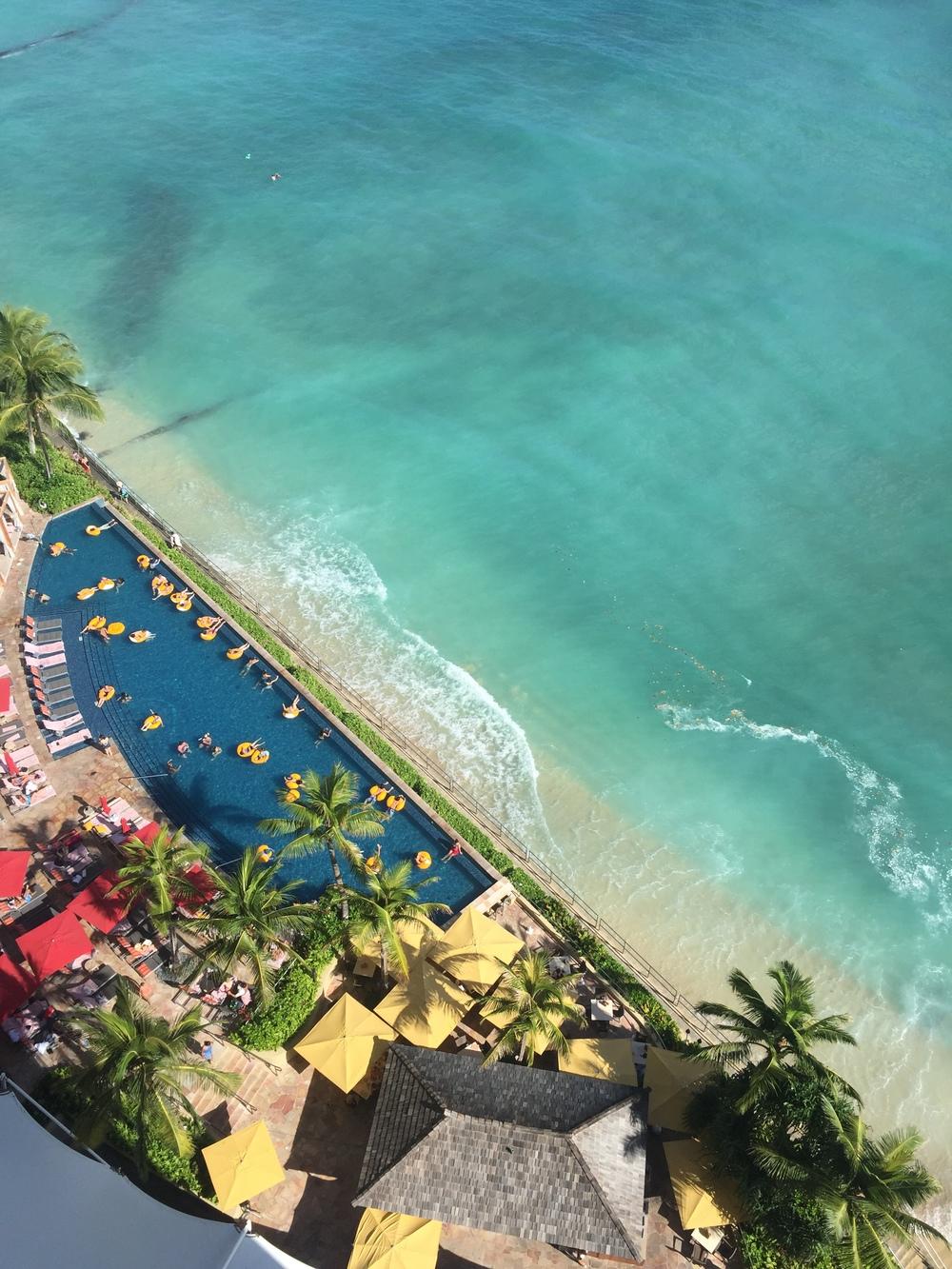 Amy Tangerine Hawaii - Sheraton Waikiki