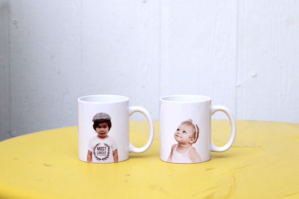 DIY Photo Mugs | Amy Tangerine