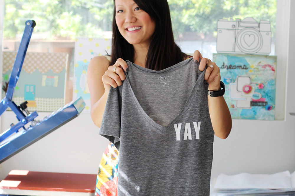 DIY T-Shirts | Amy Tangerine