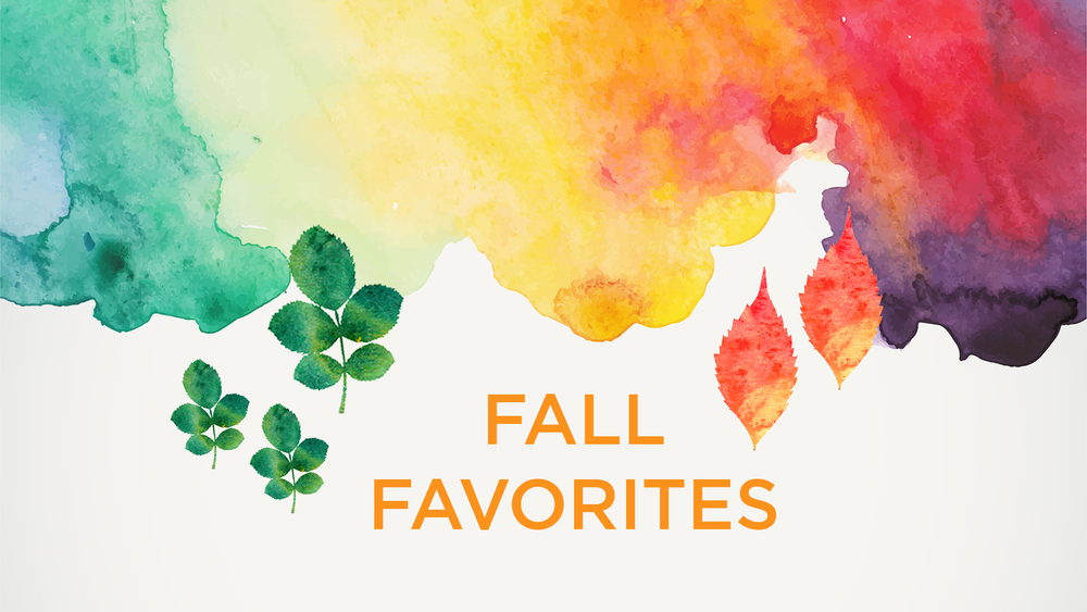 Amy Tangerine Free Fall Favorites Banner