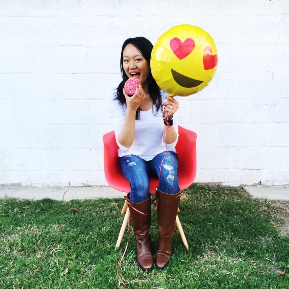Heart Emoji Balloon