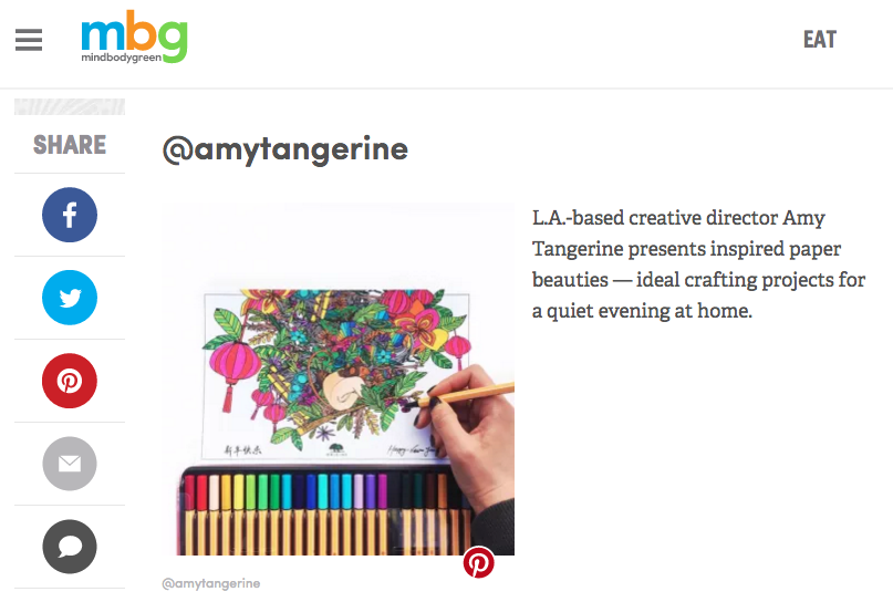 mindbodygreen featured amy tangerine
