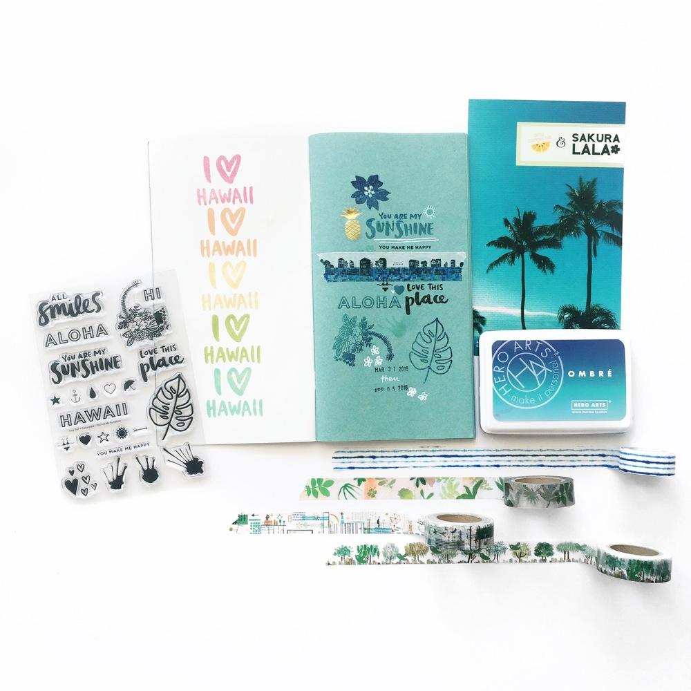 Travelers Notebook Hawaii