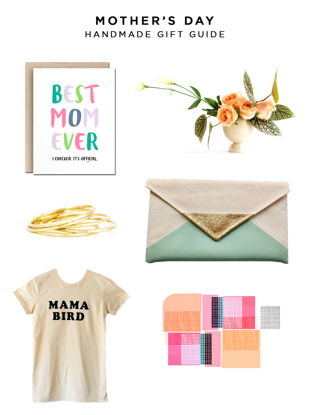 Mother's Day Handmade Gift Guide | Amy Tangerine