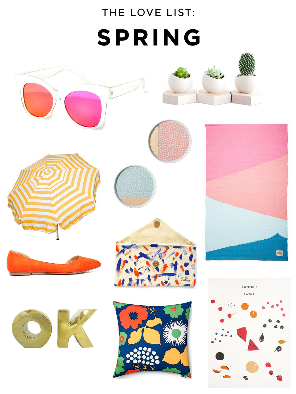 The Love List: Spring | Amy Tangerine