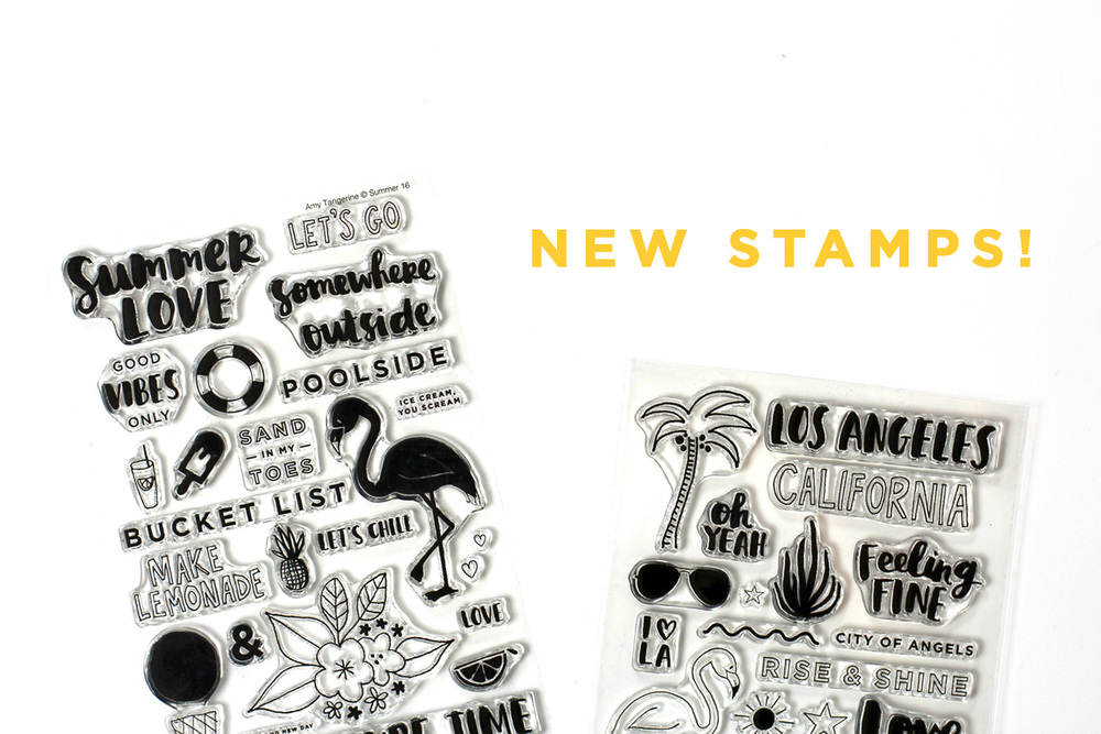 New Stamps! | Amy Tangerine