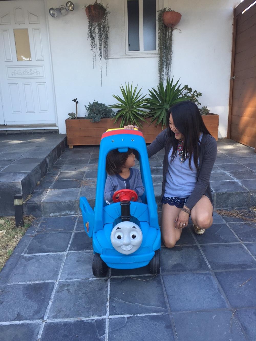 Thomas & Friends car