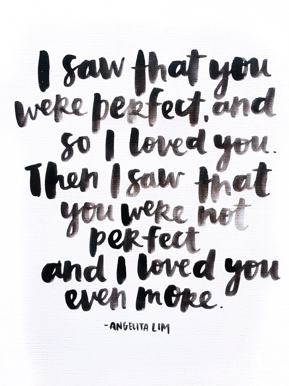 Perfectly Imperfect Blog: Perfectly Imperfect Quote