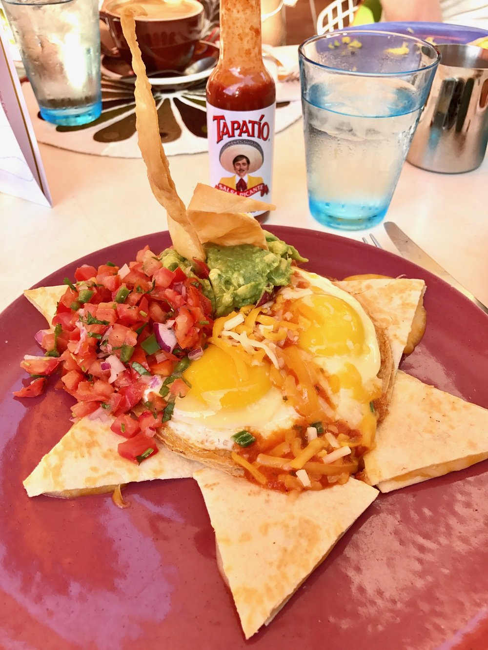 huevos rancheros at Norma's