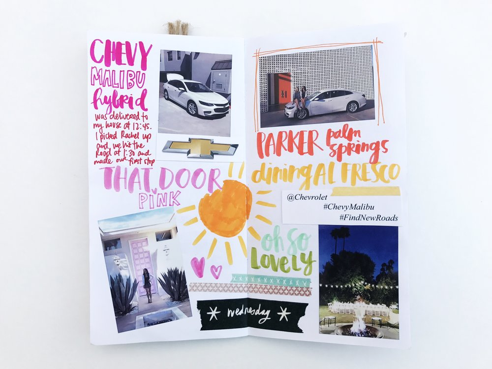 Palm Springs Traveler's Notebook