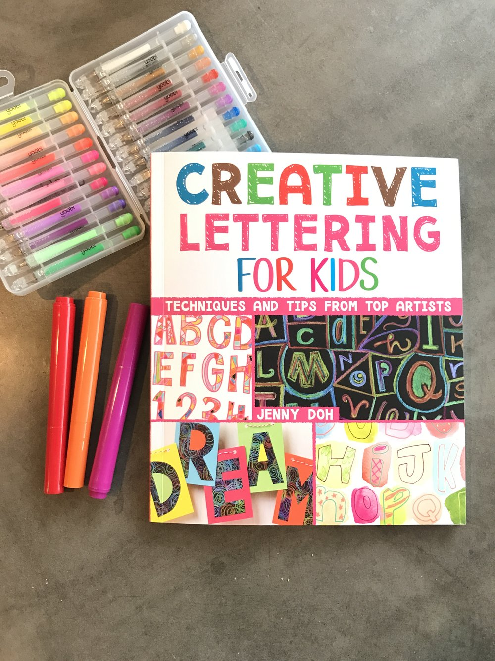 Creative Lettering book!