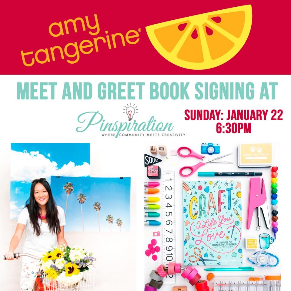 Amy Tangerine Book Signing